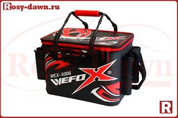 Wefox Eva Wex 5006 с держателями удилищ, черно-красная, 40см - фото 10639