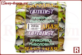 "Готовая зимняя прикормка Optimist ""Лещ"", 500гр"