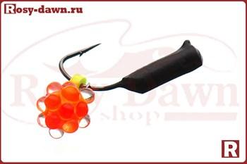 """Мормышка """"Столбик"""" Ø2мм, 0.4гр (вольфрам, светонакопительная икра) - фото 11638"""