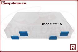 Двухсторонняя коробка для воблеров Rosy Dawn/Columbia(XL, 35,5см) - фото 12570