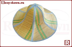 Складная панама из бамбука, Ø46см - фото 12667