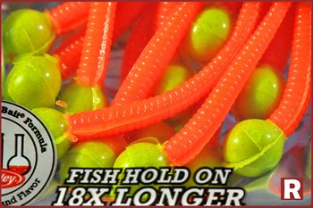 Berkley Powerbait Mice Tail Chartreuse/Flor.Orange