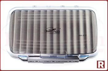 Коробка для приманок Rosy Dawn двусторонняя водонепроницаемая (средняя) - фото 5641