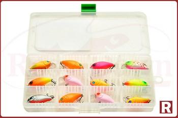 Коробка для приманок Fisherbox 216 Slim Small - фото 6486