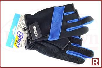 Рыболовные перчатки Owner (без трех пальцев, неопрен) - фото 6494