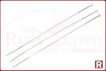 Поводок-струна Hitfish String Leader Wire 175мм, Ø0.35, 13кг, 10шт - фото 6834