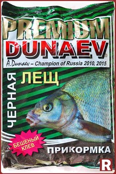 Прикормка Dunaev Premium Черный Лещ - фото 9206