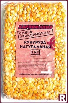 Смесь прикормочная Карпомания Кукуруза Натуральная с Горохом 1кг - фото 9618