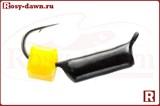 """Мормышка """"ГвоздеКубик"""", Ø2.5мм, 0.85гр(бисер-сырный кубик)"""