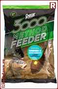 Sensas 3000 Method Feeder Bremes&Gros Poissons 1кг