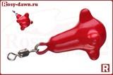 Маркерное фидерное грузило 30гр (красное)