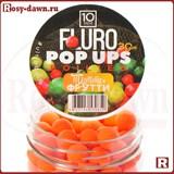 Ultrabaits Fluro Pop Ups Boilies 10мм, 30гр, тутти-фрутти