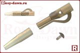 Безопасная клипса Lead Clip&Pegs with Tail Rubber 5шт