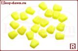 Искусственная кукуруза Baracuda(желтая флюо, ягода), 20шт