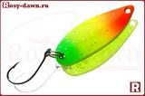Columbia Trout Killer Pro 30мм, 3.5гр, 015(светофор)