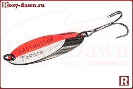 Блесна Takara Kastmaster 18гр, красный/серебро