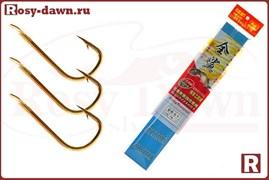 Готовые карасевые поводки Herabuna №4, 50см, 0.14мм