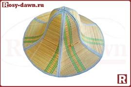 Складная панама из бамбука, Ø46см