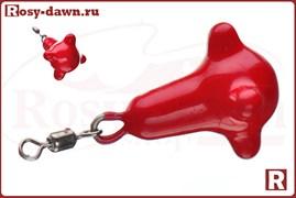 Маркерное фидерное грузило 120гр (красное)
