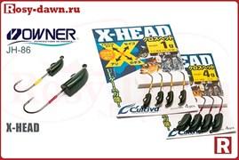 Cultiva X-Head JH-86, 4шт, 2.5гр
