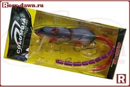 Крыска Columbia Rat 3D со сменным хвостом, 83мм, 14гр, 007
