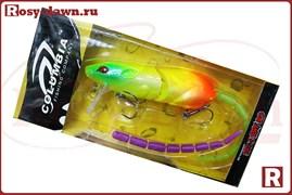 Воблер-крыска Columbia Rat 3D со сменным хвостом, 83мм, 14гр, 001