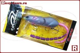 Воблер-крыска Columbia Rat 3D со сменным хвостом, 83мм, 14гр, 003
