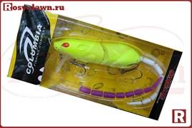 Воблер-крыска Columbia Rat 3D со сменным хвостом, 83мм, 14гр, 004