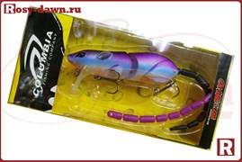 Воблер-крыска Columbia Rat 3D со сменным хвостом, 83мм, 14гр, 009