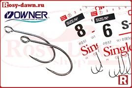 Owner S-21 Large Eye, №6, 10шт