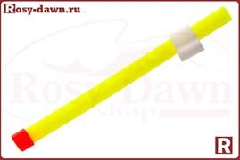 Сторожок для блеснения силиконовый 7см. (флюорисцентный желтый)