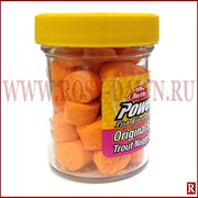 Пастилки Berkley Trout Nuggets Fluo Orange(оранжевые)