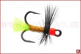 Тройник с оперением Element Fishing Lures, Owner №6, 002