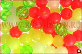 Columbia Beads Multicolor, 4мм, 120шт