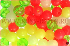 Columbia Beads Multicolor, 6мм, 80шт