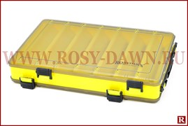 Двухсторонняя коробка для воблеров Rosy Dawn, средняя, цветная