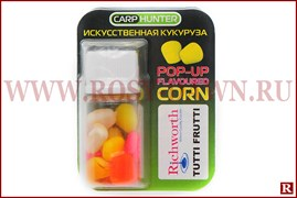 Силиконовая кукуруза в дипе Carp Hunter Pop-Up Corn(Tutti Frutti)