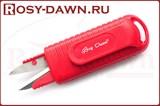 Ножницы рыболовные для лески Rosy Dawn с клипсой