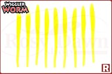 """Lucky John Wriggler Worm 2.3"""", 9шт, 101"""