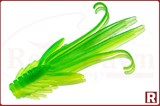 Grows Culture Trout Red Bass 53мм, 5шт, fluo/green