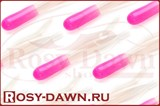 Кальмарчики Action Plastics Tube Jigs 40мм, 5шт, pink white - фото 8376