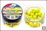 Плавающие бойлы Van Daf Fluo Pop-Ups 12мм, 25шт, ананас