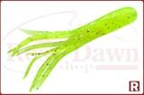 Кальмарчики Action Plastics Tube Jigs 40мм, 5шт, chartreuse glitter