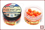 Плавающие бойлы Van Daf Fluo Pop-Ups 12мм, 25шт, персик