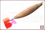 Блесна-колебалка Судаковая(омедненая) 90мм, 15гр