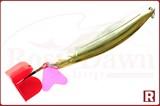 """Колебалка Сатурн """"Судаковая""""(желт, лак) 88мм, 18гр"""