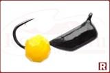 """Мормышка """"Гвоздешарик"""", Ø2.5мм, 0.85гр. (многогранный желтый шарик)"""